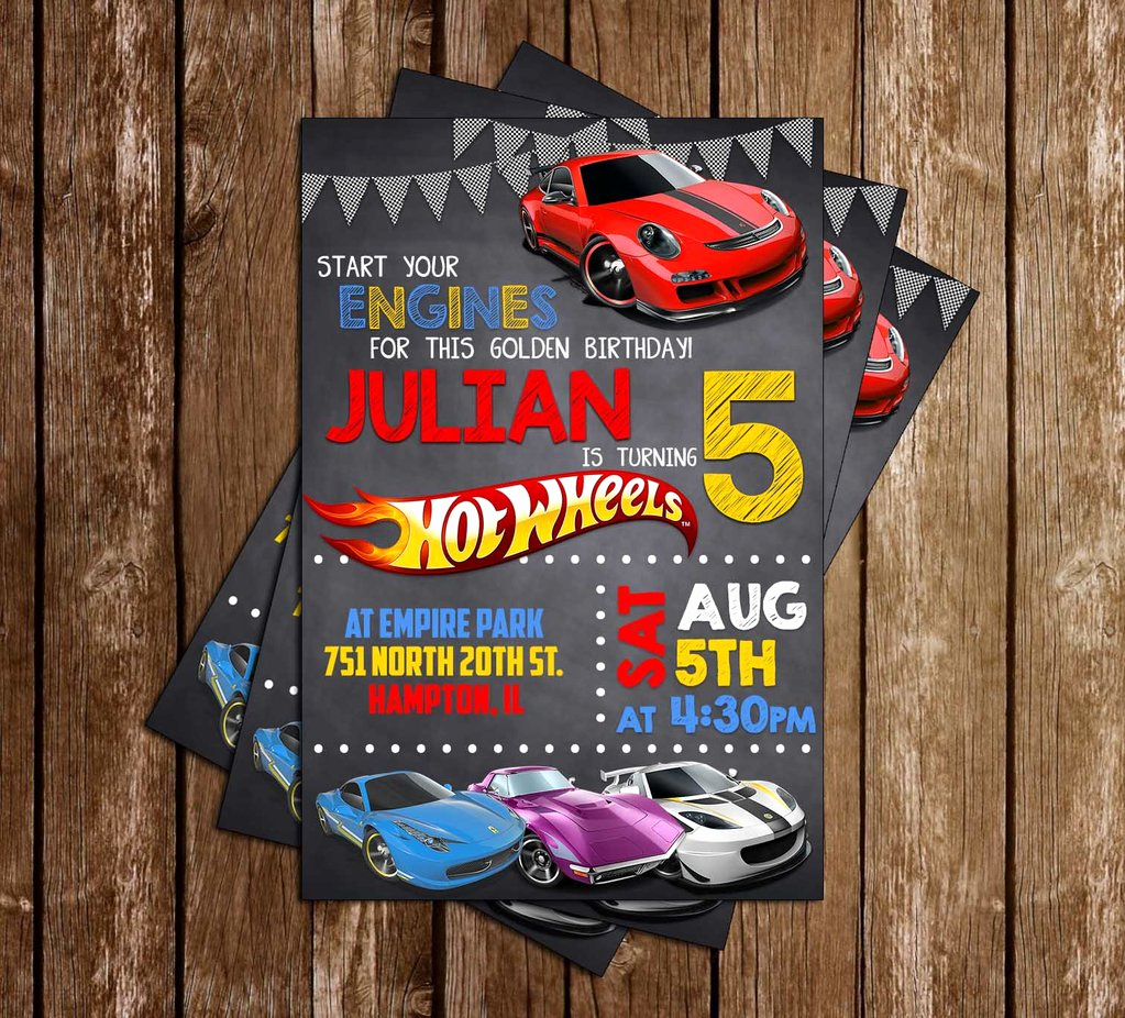 Hot Wheels Invitation Template Best Of Novel Concept Designs Hot Wheels Birthday Party