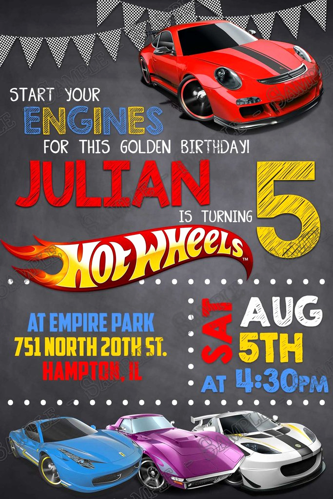 Hot Wheels Invitation Template Inspirational Novel Concept Designs Hot Wheels Birthday Party
