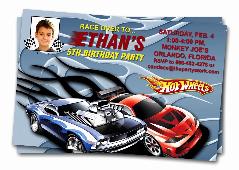 Hot Wheels Invitation Template New Hot Wheels Birthday Invitations – Free Printable Birthday