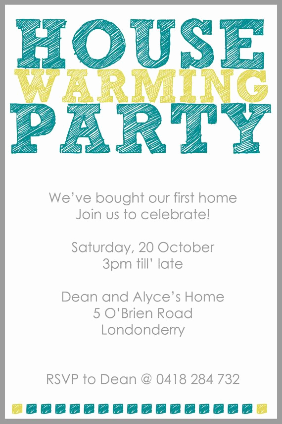 House Warming Invitation Ideas New 25 Best Housewarming Invitation Wording Ideas On