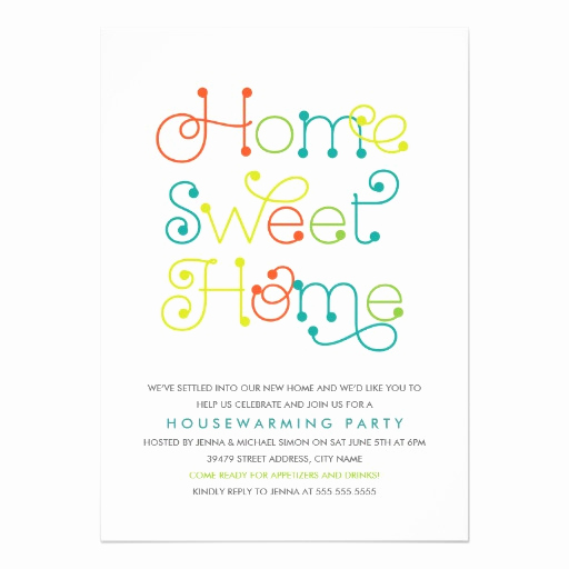 House Warming Invitation Message Beautiful Fun & Whimsical Housewarming Party Invitation