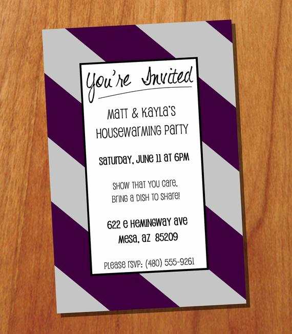 House Warming Invitation Message Elegant Housewarming Party 4x6 Custom Printable Invitation Digital