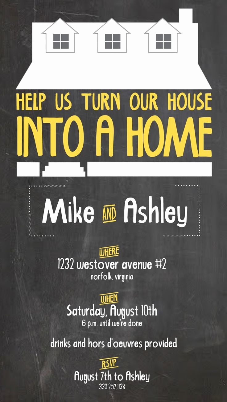 House Warming Party Invitation Ideas Lovely 25 Best Housewarming Invitation Wording Ideas On Pinterest