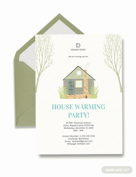 House Warming Party Invitation Template Fresh 23 Housewarming Invitation Templates Psd Ai