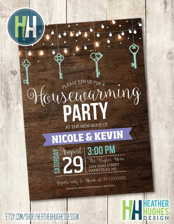 House Warming Party Invitation Template Fresh Printable Housewarming Invitation Rustic Wood Housewarming