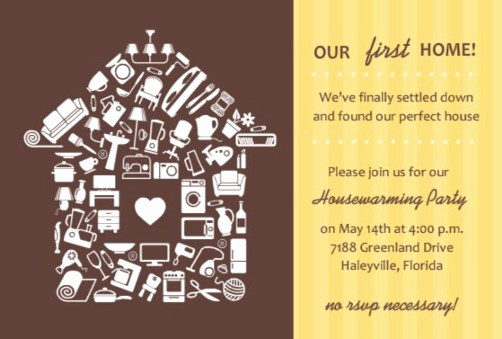 House Warming Party Invitation Template Inspirational Housewarming Party Ideas From Purpletrail