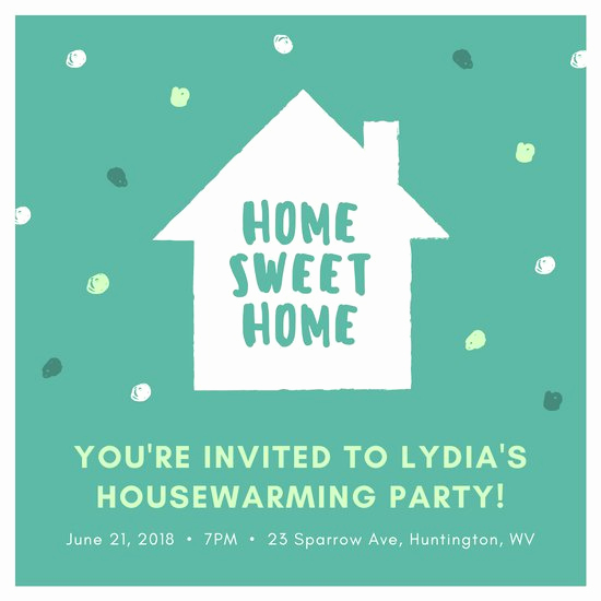 House Warming Party Invitation Template New Customize 27 Housewarming Invitation Templates Online Canva