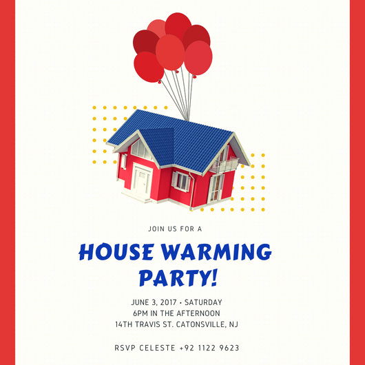 Housewarming Images for Invitation Beautiful House Warming Invitation Templates by Canva