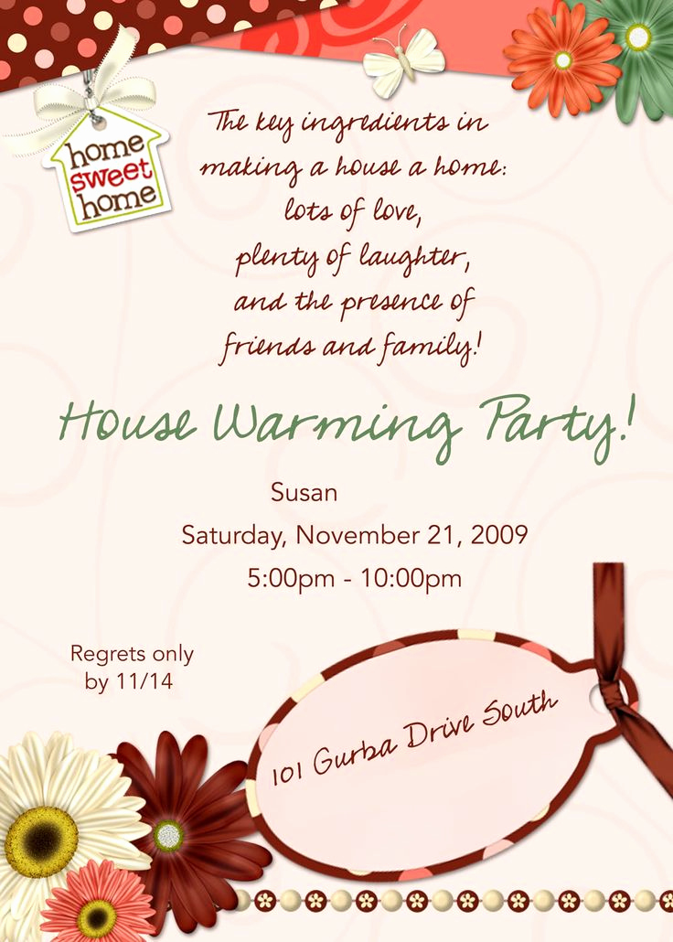 Housewarming Images for Invitation New Best 25 Housewarming Invitation Message Ideas On