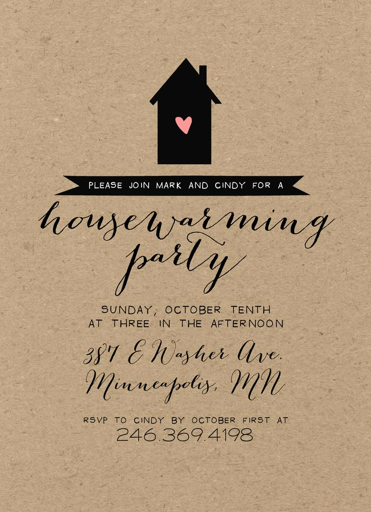 Housewarming Images for Invitation New Best 25 Housewarming Party Invitations Ideas On Pinterest