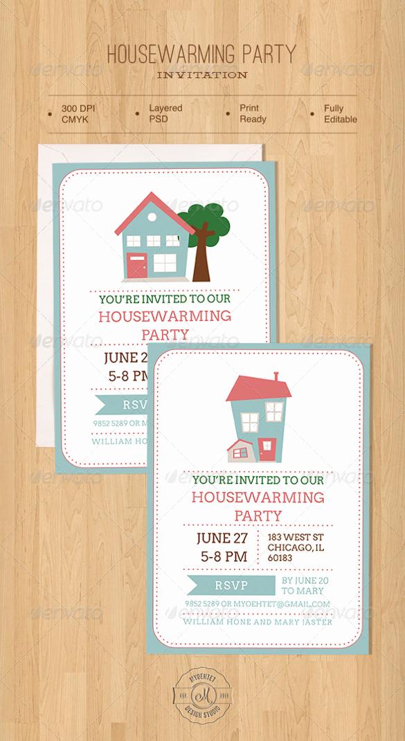 Housewarming Invitation Template Free Beautiful Housewarming Invitation Template – 30 Free Psd Vector