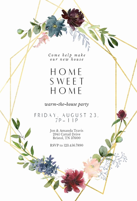 Housewarming Invitation Template Free Beautiful Housewarming Invitation Templates Free