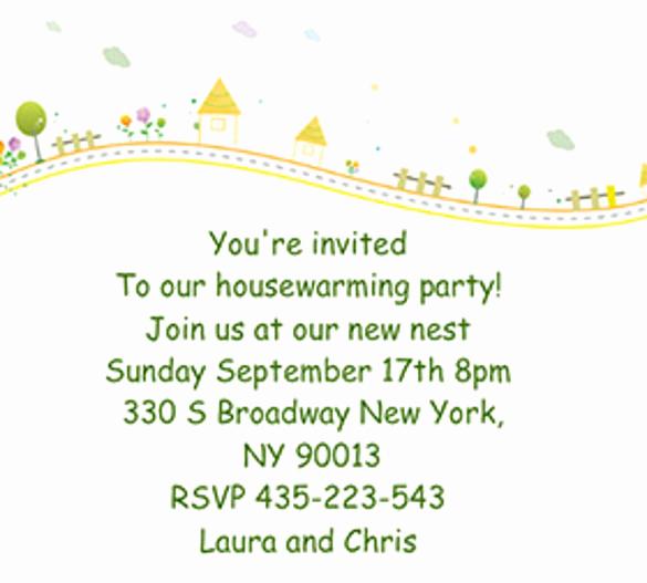 Housewarming Invitation Template Free Fresh 23 Housewarming Invitation Templates Psd Ai