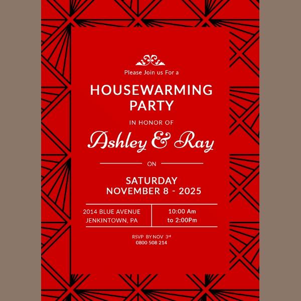 Housewarming Invitation Template Free New 20 Housewarming Invitation Templates Psd Ai