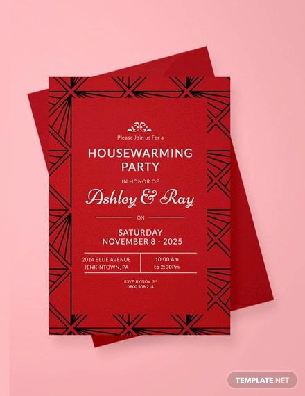 Housewarming Invitation Template Free New 36 Unique Housewarming Invitation Designs Psd Vector