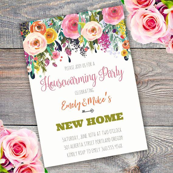 Housewarming Invitation Template Free Unique Best 25 Housewarming Invitation Templates Ideas On