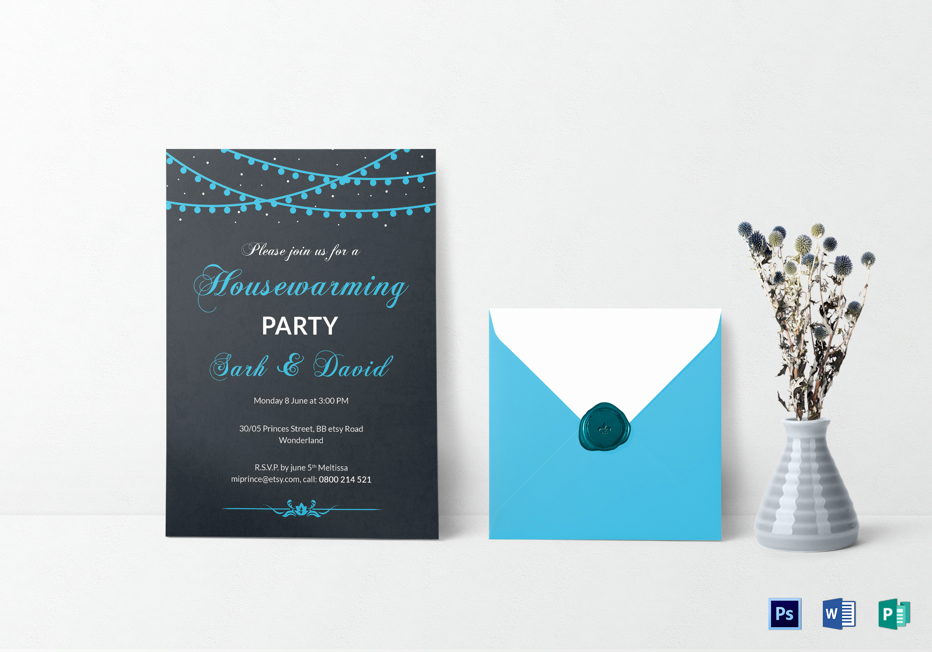 Housewarming Invitation Template Microsoft Word Fresh Classic Housewarming Invitation Design Template In Psd