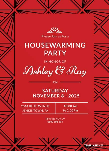 Housewarming Invitation Template Microsoft Word Inspirational Free Housewarming Invitation Template Download 344