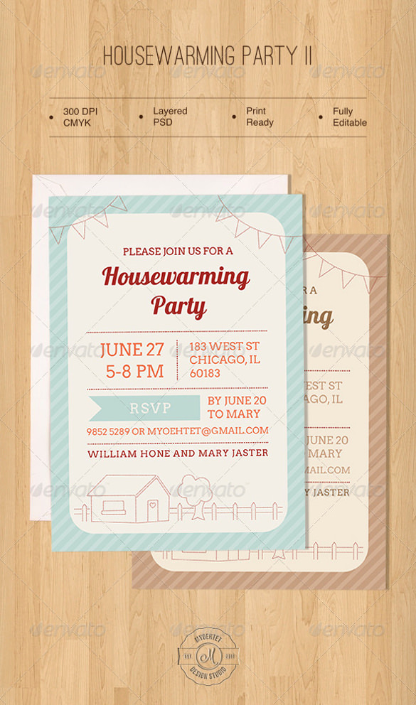 Housewarming Invitation Template Microsoft Word New 35 Housewarming Invitation Templates Psd Vector Eps