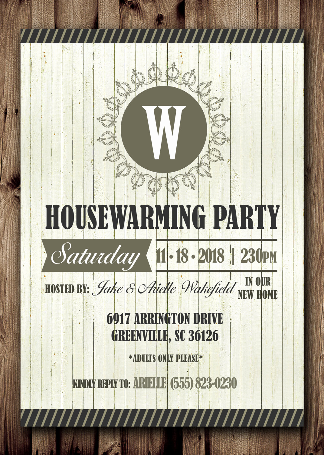 Housewarming Invitation Template Microsoft Word New House Warming Party Printable Invitation Diy Printable