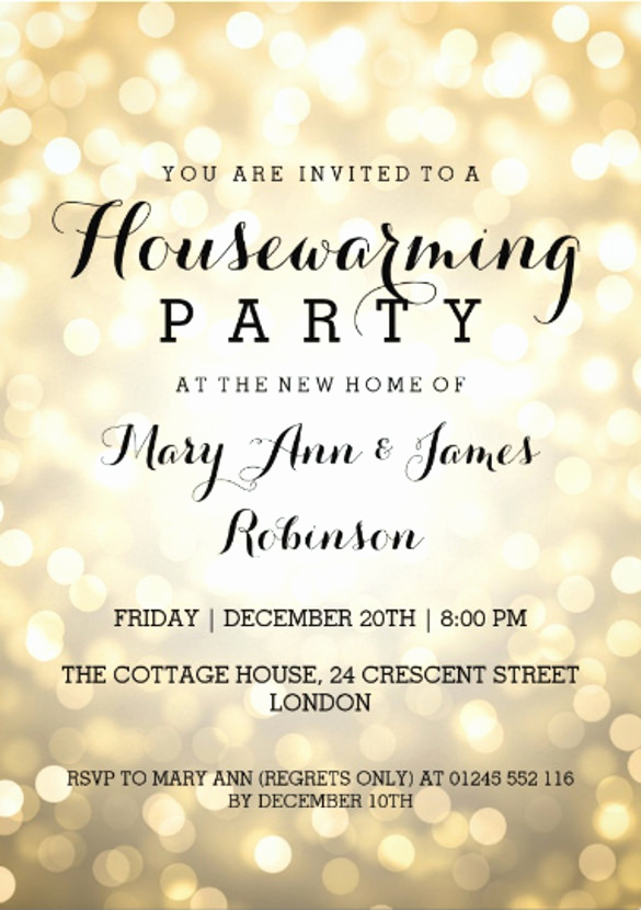 Housewarming Invitation Templates Free Elegant 23 Housewarming Invitation Templates Psd Ai