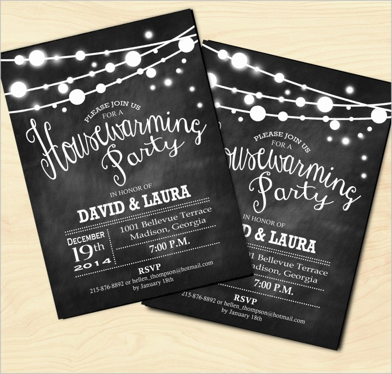 Housewarming Invitation Templates Free Elegant 35 Housewarming Invitation Templates Psd Vector Eps
