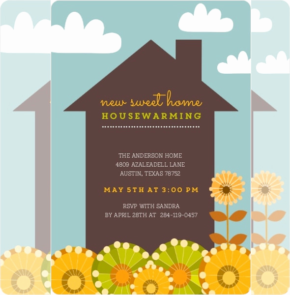 Housewarming Invitation Templates Free Fresh 35 Housewarming Invitation Templates Psd Vector Eps