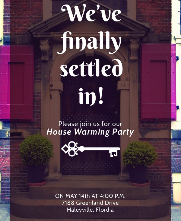 Housewarming Invitation Templates Free Inspirational 20 Housewarming Invitation Templates Psd Ai