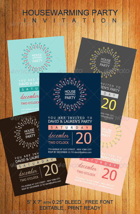 Housewarming Invitation Templates Free Inspirational Housewarming Invitation Template – 30 Free Psd Vector