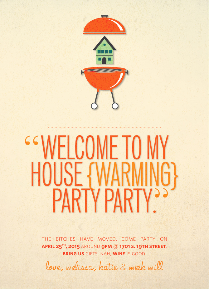 Housewarming Invitation Wording Funny Beautiful Housewarming Invite Melissa Stites Design