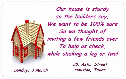 Housewarming Invitation Wording Funny Unique the Most Pleasantly Perfect Housewarming Invitation