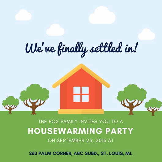Housewarming Invitation Wording Samples Inspirational Customize 39 Housewarming Invitation Templates Online Canva