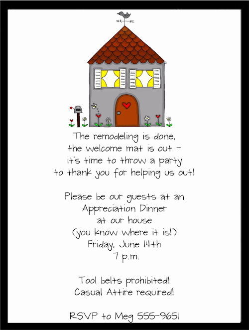 Housewarming Invitation Wording Samples New Housewarming Party Invitation Wording