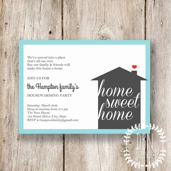 Housewarming Invitation Wording Samples Unique Diy Template Instant Download Home Sweet Home