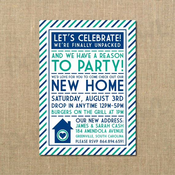 Housewarming Open House Invitation Wording Beautiful We Ve Moved New Home Open House Housewarming
