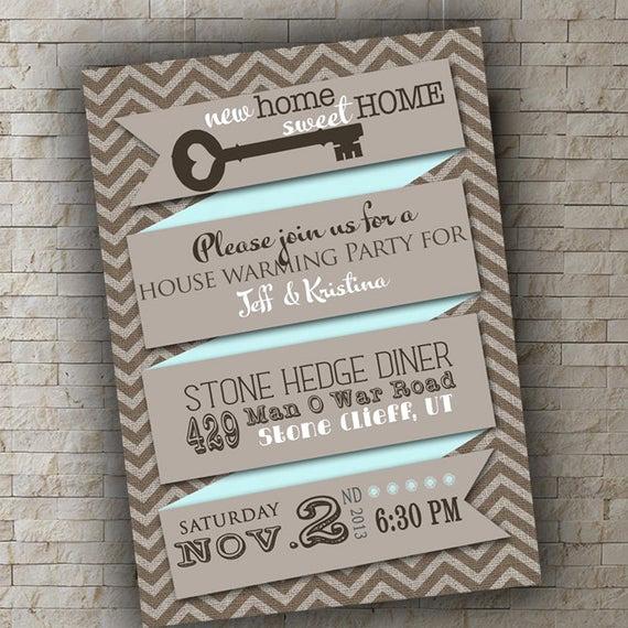 Housewarming Open House Invitation Wording Fresh House Warming Invitation New Home Invitation Mint Gray Open