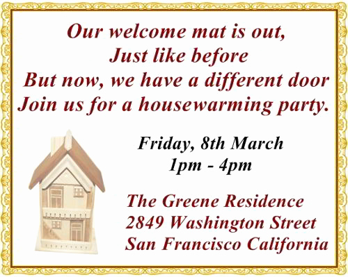 Housewarming Open House Invitation Wording Fresh the Most Pleasantly Perfect Housewarming Invitation