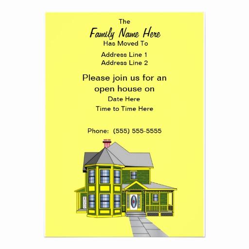 "Housewarming Open House Invitation Wording Inspirational Custom Housewarming Open House Invites 5"" X 7"" Invitation"