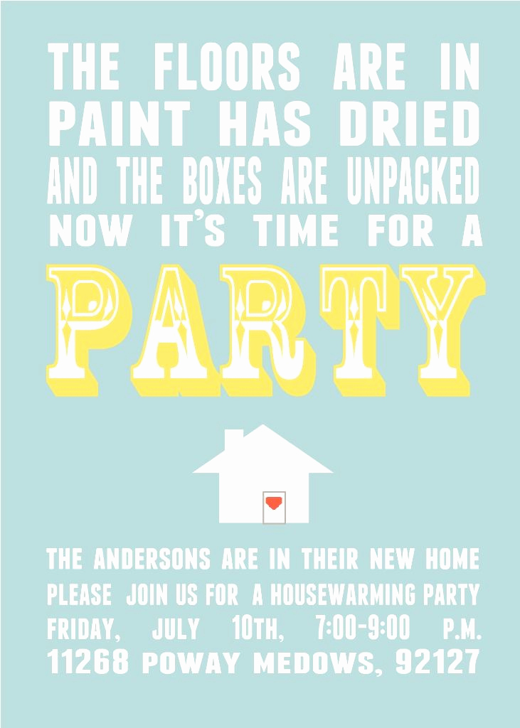Housewarming Open House Invitation Wording Inspirational Parks and Pepper Housewarming Invitations