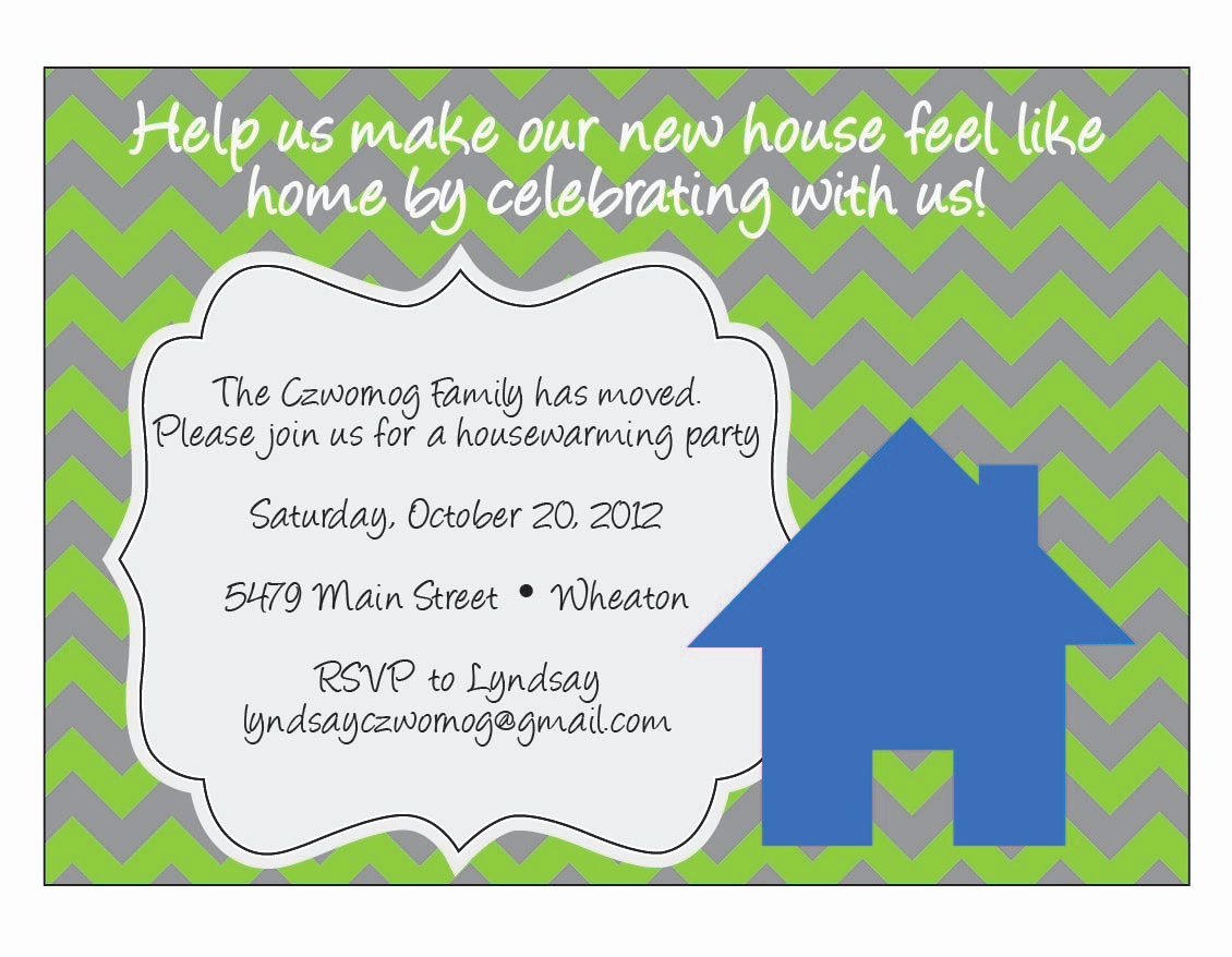 Housewarming Party Invitation Message Awesome Chevron Housewarming Invitation by Elsypaper On Etsy