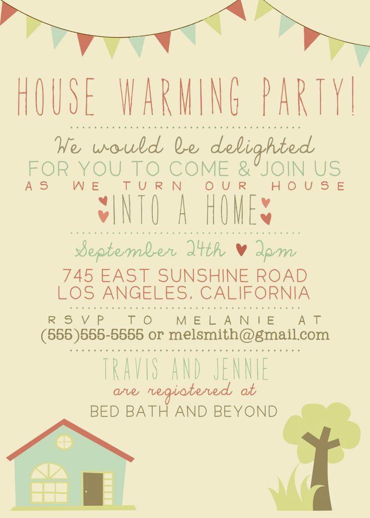 Housewarming Party Invitation Message Elegant 25 Best Housewarming Invitation Wording Ideas On