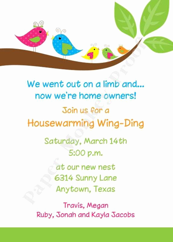 Housewarming Party Invitation Message Fresh Housewarming Invitations by Pmcinvitations On Etsy