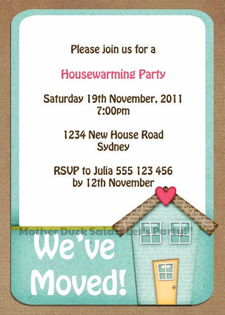 Housewarming Party Invitation Template Best Of Free Housewarming Invitations Printable
