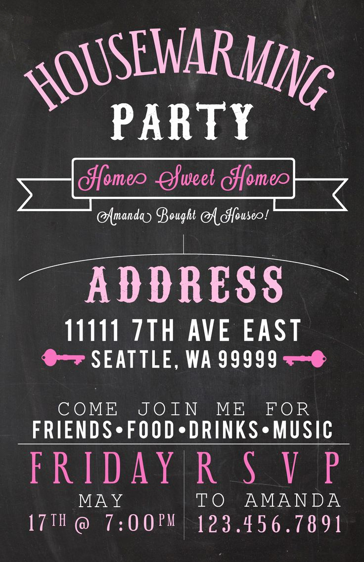 Housewarming Party Invitation Template New 106 Best Images About Housewarming Invitations On