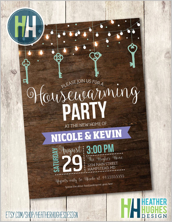 Housewarming Party Invitation Templates New 35 Housewarming Invitation Templates Psd Vector Eps