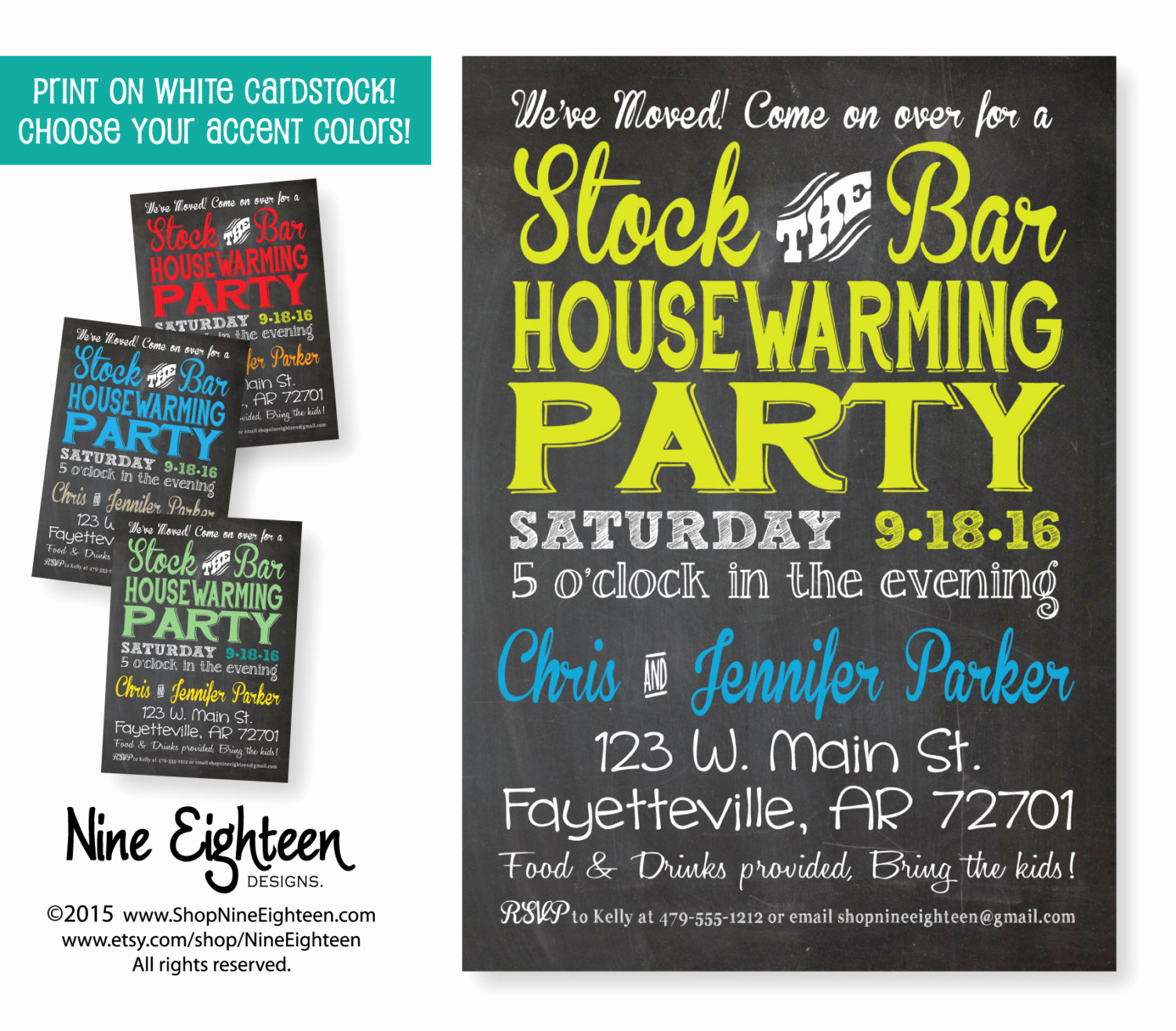 Housewarming Party Invitation Wording Lovely Stock the Bar Housewarming Party Invitation Custom by