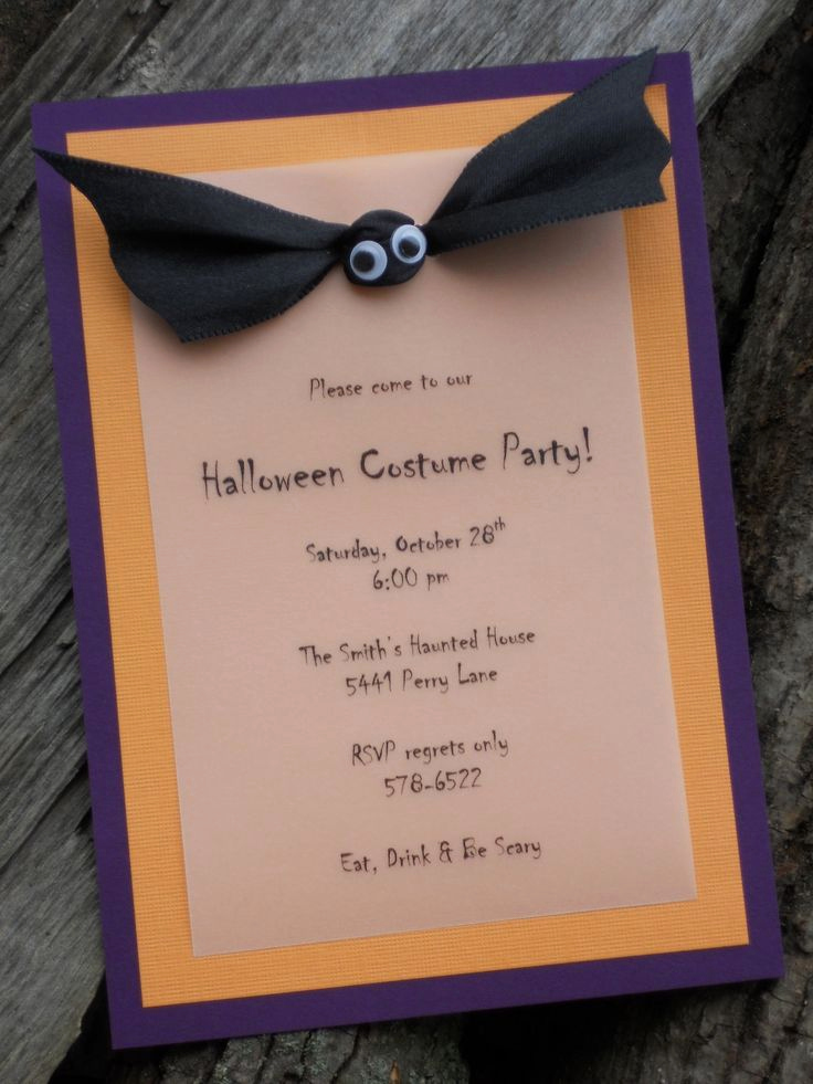 How to Make Homemade Invitation Awesome 1000 Ideas About Homemade Invitations On Pinterest