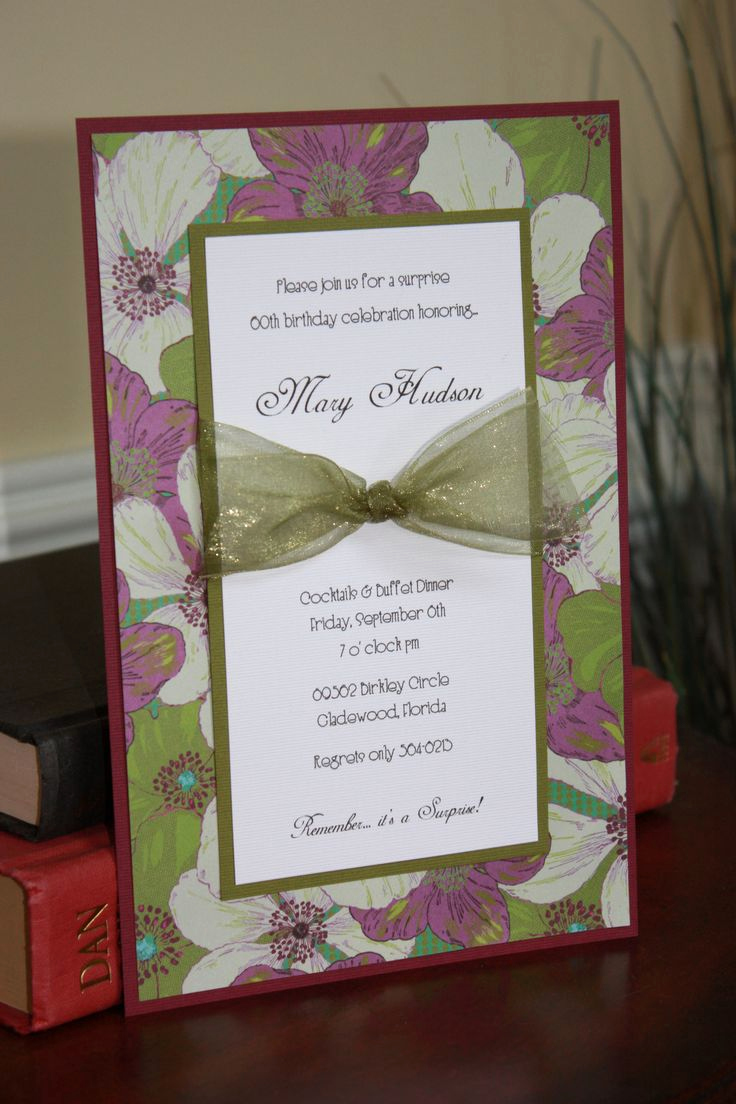 How to Make Homemade Invitation Elegant 25 Best Ideas About Homemade Invitations On Pinterest
