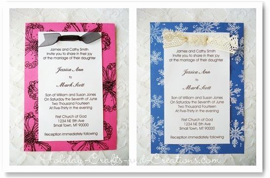 How to Make Homemade Invitation Luxury 27 Best Images About Anniversary Invitations On Pinterest