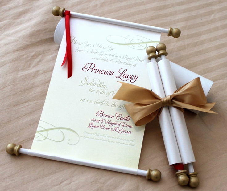 How to Make Scroll Invitation Inspirational 43 Best Images About Wonder Woman Party On Pinterest